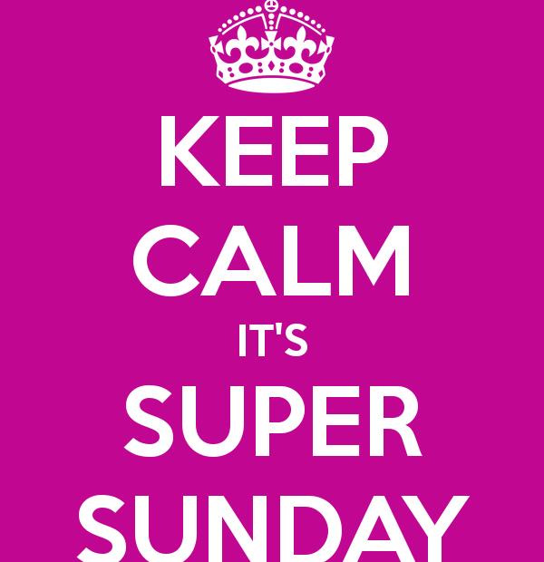Super Sunday blog post
