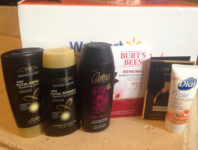 the Walmart beauty box for spring 2015