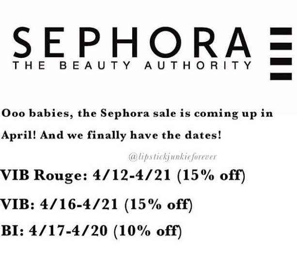 Beauty Insider Sale at Sephora