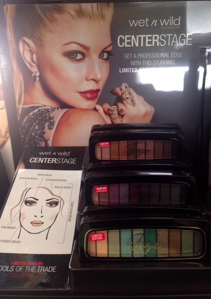 Wet n Wild Centerstage, eyeshadow palettes, Fergie