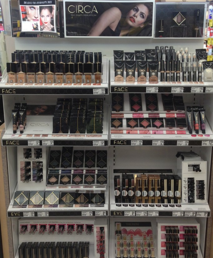 new drugstore makeup, Circa, Walgreen's, spring 2015