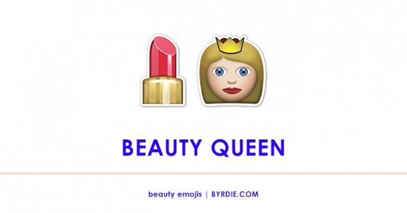 Super Sunday, beauty emoji