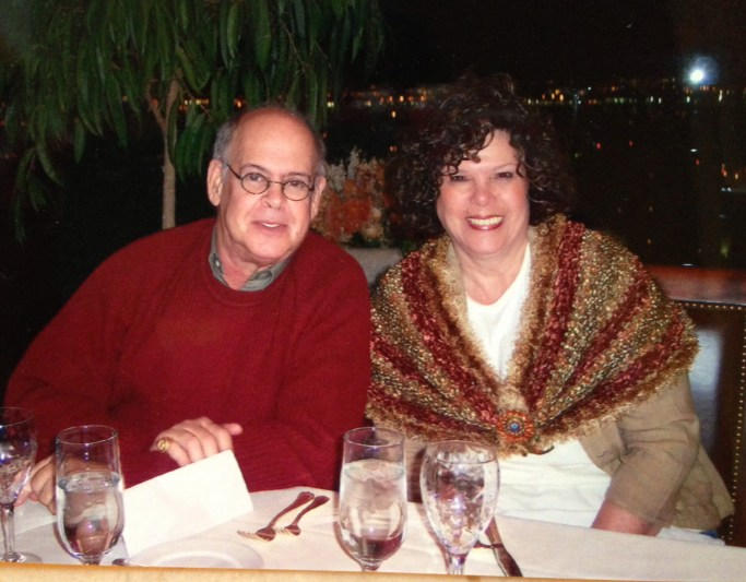 My parents in 2005 at my 40th birthday party