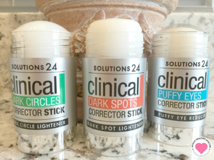 Soultions 24 Clinical corrector sticks review