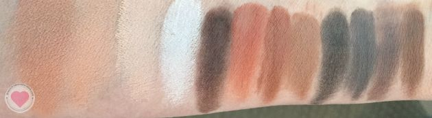 Viseart matte neutral swatches
