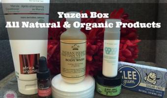 Yuzen Box – Organic Beauty Products