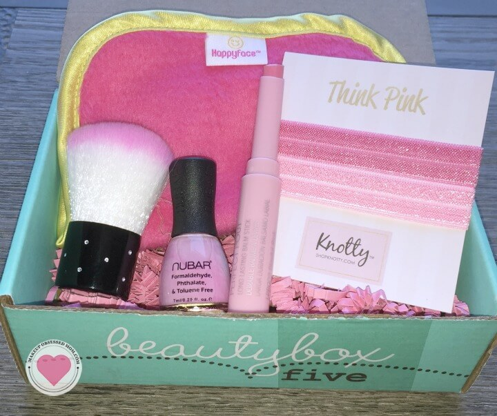 October 2015 Beauty Box 5