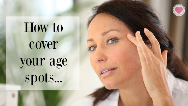 how to cover age spots on the face