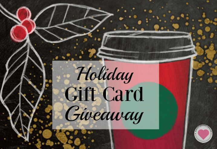 Starbucks holiday gift card giveaway