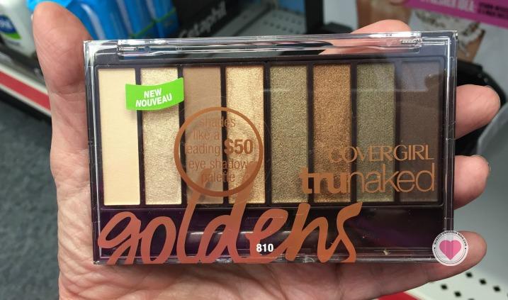 covergirl goldens palette