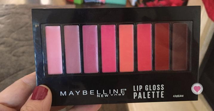 maybelline lip gloss palette