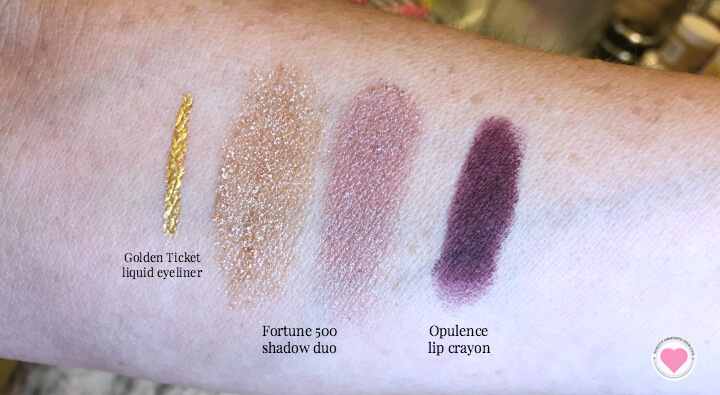 Starlooks shimmering future swatches