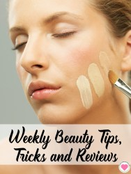 beauty tips, tricks and reviews
