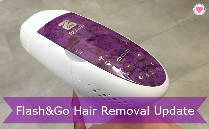 Flash&Go hair removal review and update