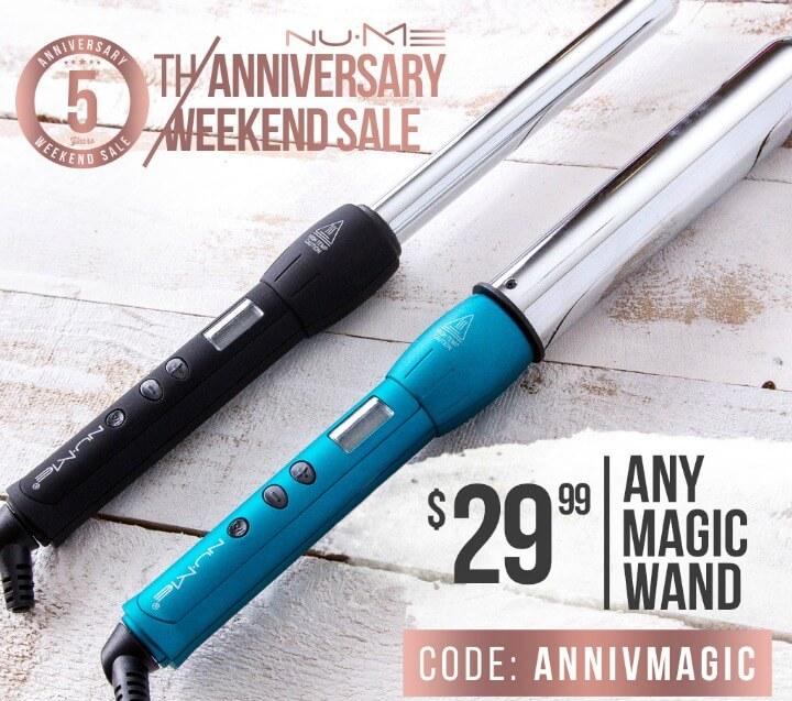 NuMe Magic Curling Iron Sale