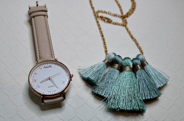 Nanette Lepore rose gold watch