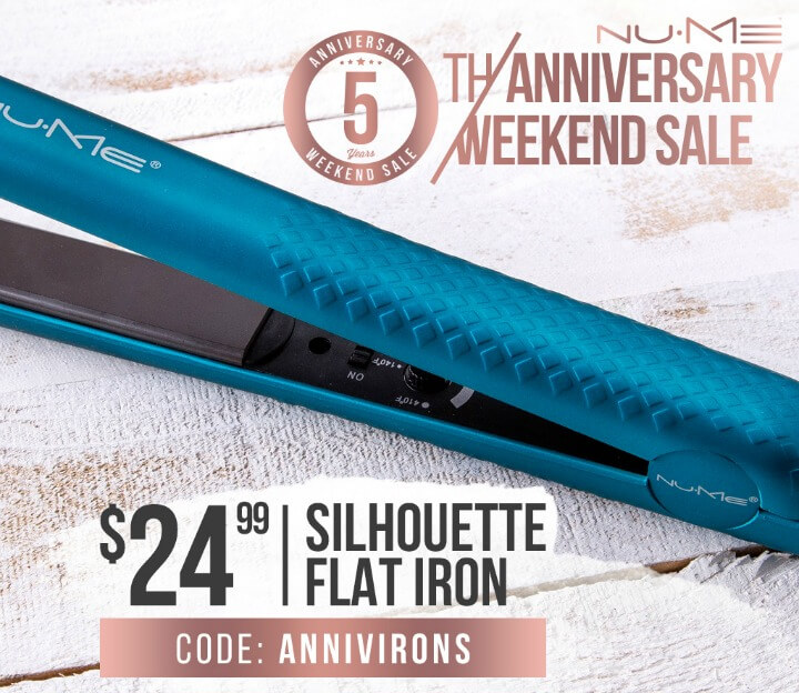 NuMe Silhouette Flat Iron