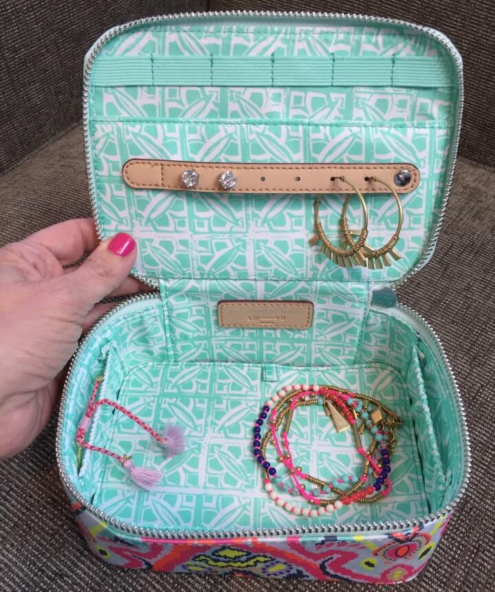 Stella & Dot travel jewelry box
