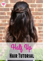 Half Up Hair Tutorial