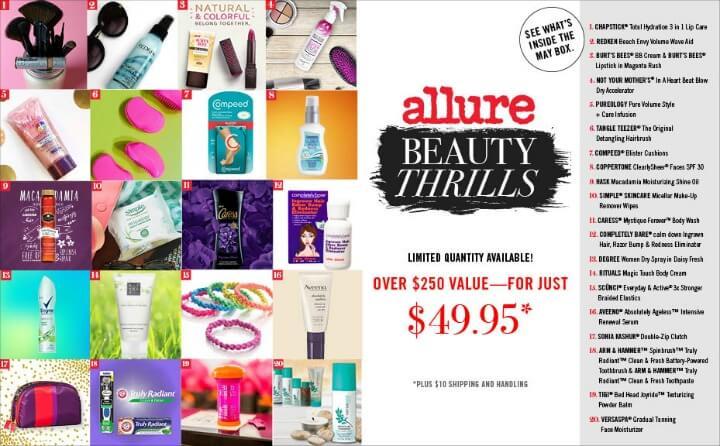 Allure Beauty Thrills Box