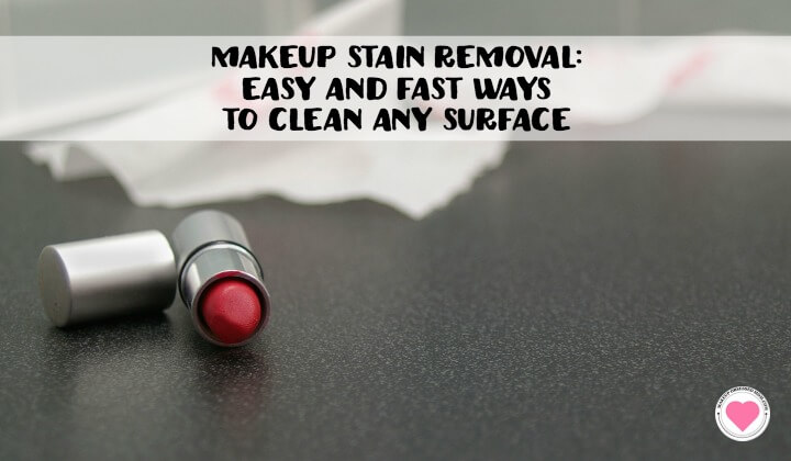 easy makeup stain removal