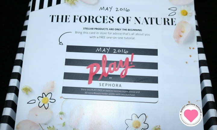 Sephora Play box for May