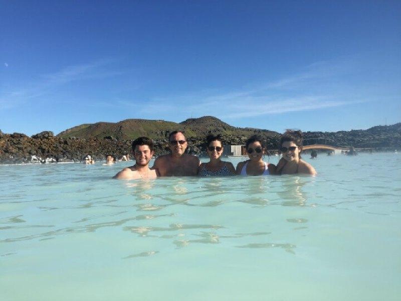 Iceland blue lagoon