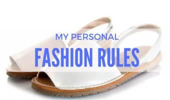 My Fashion Rules