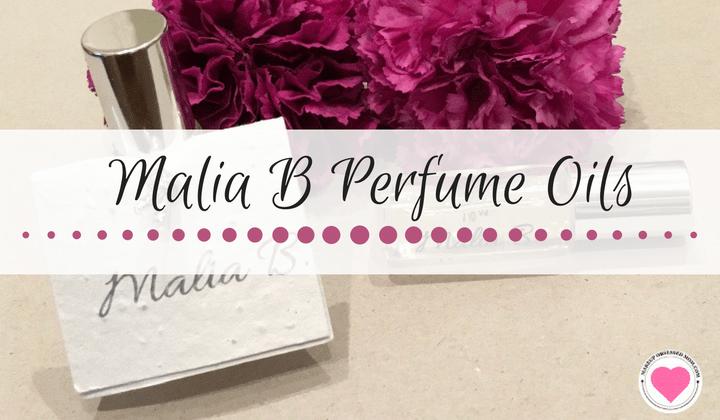 Malia B perfume oils