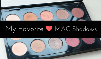 favorite MAC eyeshadows