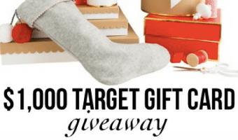 Target Goodies & a HUGE Target Giveaway