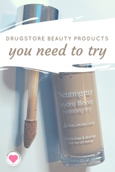 best beauty products at the drugstore