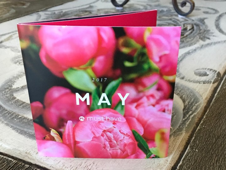 May 2017 Popsugar Must Have Box