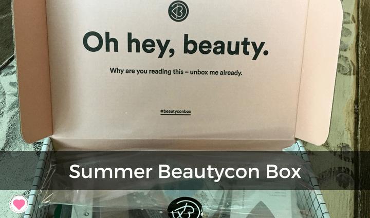 summer essentials beautycon subscription box