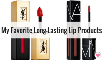My FAVORITE Long-Lasting Lip Products