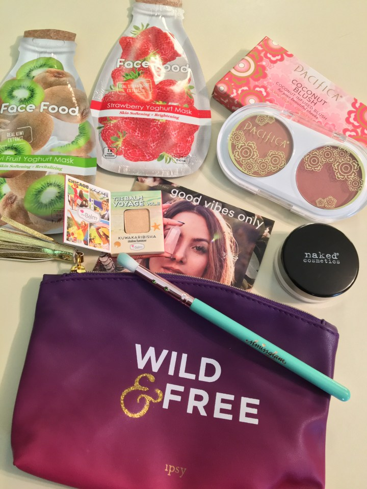 Ipsy Bag August 2017