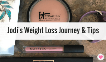 Jodi's Weight Loss Journey and Tips