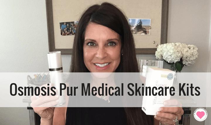 Osmosis pur age reversal skincare kits