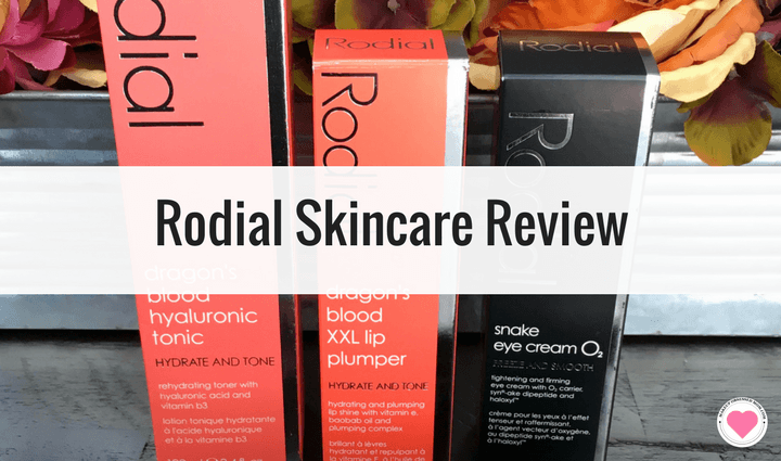 Rodial skincare and beauty review