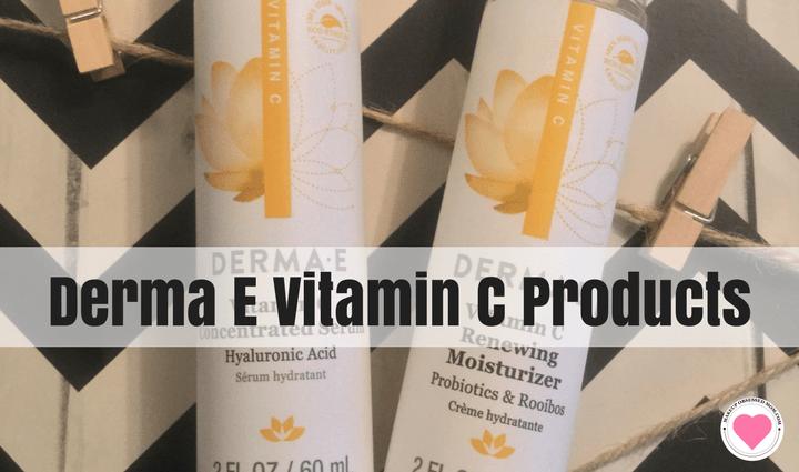 Derma E vitamin C skincare review