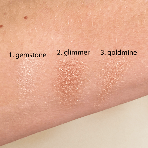 sculpt and glow swatches