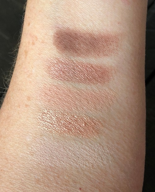 It girl warm tone swatches