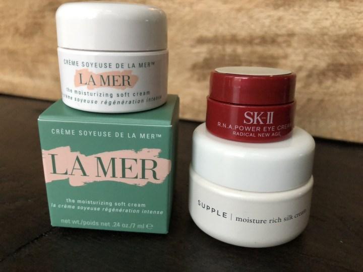 luxury skincare samples