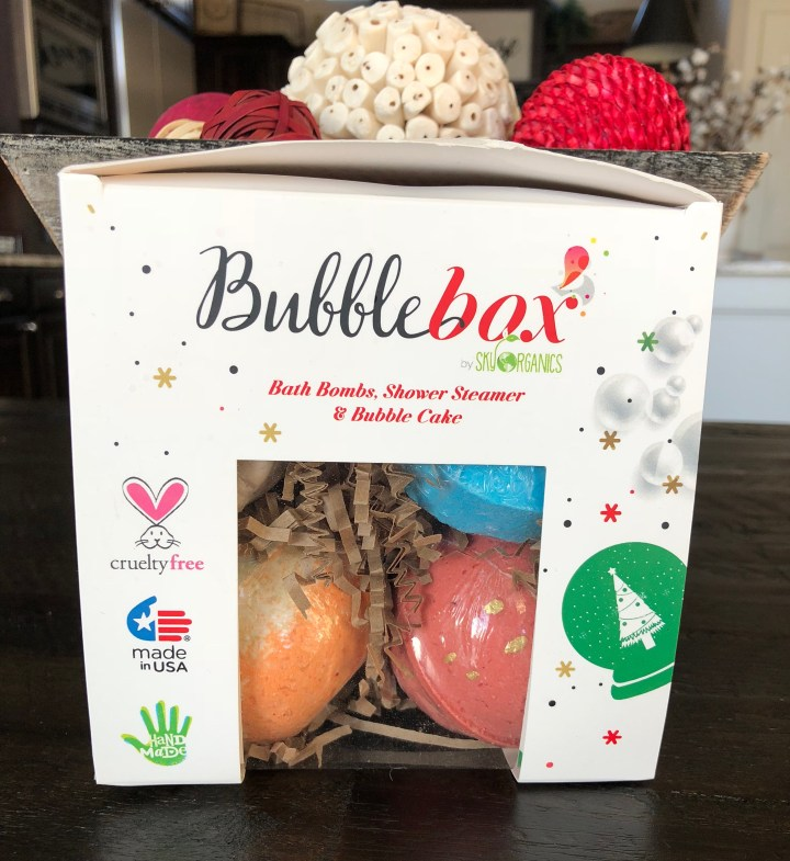 Sky Organics Bubble Box