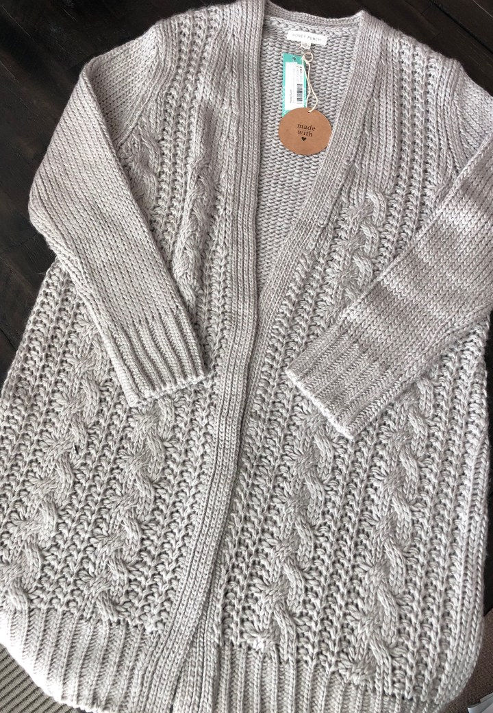 duster cardigan sweater from Honey Punch