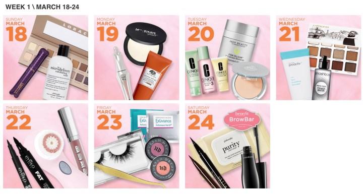 The Ulta 21 Days of Beauty Sale