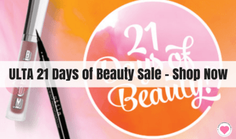 The Ulta 21 Days of Beauty Sale – My Picks