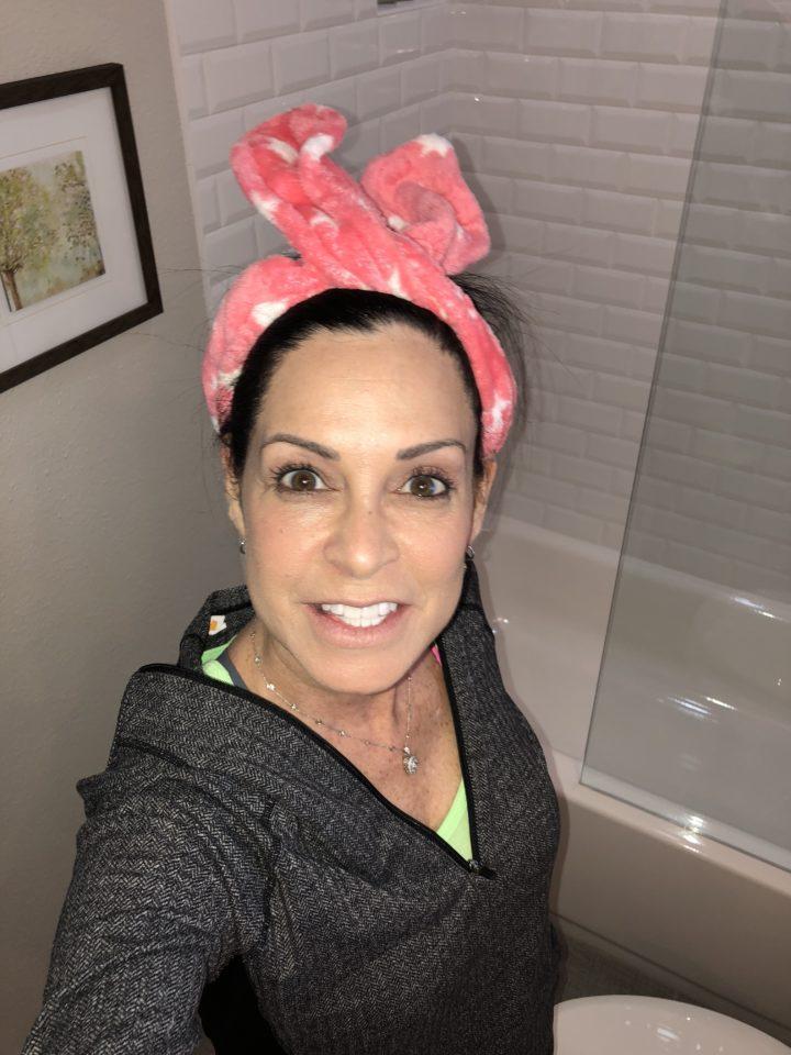 The Vintage Cosmetics Company bunny ears headband