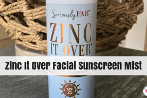 Zinc It Over facial sunscreen mist