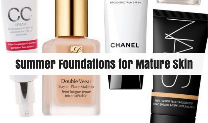 best summer foundation for mature skin